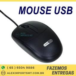 Mouse Usb para computador Preto mause Com Sensor Óptico