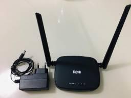 Roteador Wireless Keo N 300 Mbps Klr 300n Linha Link