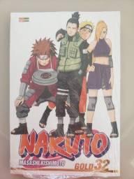 Mangá Naruto Gold n° 32 no plástico - R$ 20,00