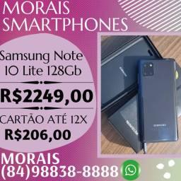 OFERTA - SAMSUNG NOTE 10 LITE 128GB (COR PRETA) NOTA FISCAL E GARANTIA DE FÁBRICA