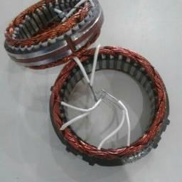Estatores e rotores novos da frabrica