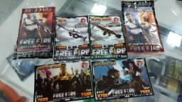 Cards colecionáveis e batalha Free Fire