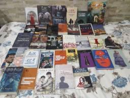 Livros novos e usados para troca