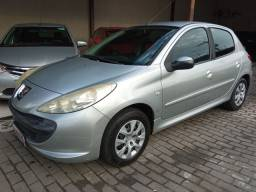 Peugeot 207 1.4 completo c couro. Financiamento Facilitado