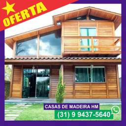 Casas de Madeira em Governador Valadares e região | Ótimos Preços!