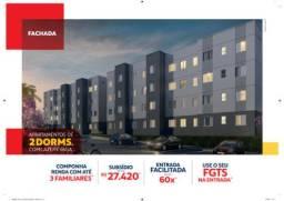 Apartamento 2 dormitórios - Condomínio Conquista Macaúba
