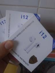 Fone Bluetooth i12/ ENTREGA GRÁTIS