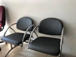 Cadeira escritório longarina