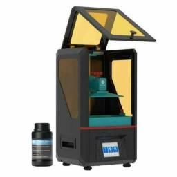Impressora 3D resina lacrada