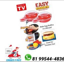 Máquina de ovo de microondas easy eggwish só zap