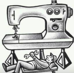 Manutenção de maquina costura