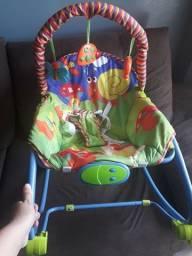 Cadeira Descanso Bebê Baby Style Vibratória Musical Animais<br><br><br><br><br><br><br><br><br><br><br><br><br>
