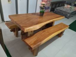 Mesa madeira maciça 2.00cm