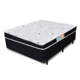 Colchão + Base box casal Romaflex