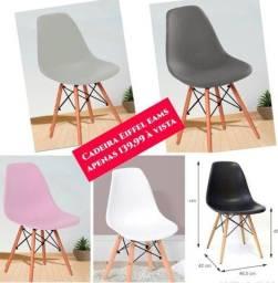 Cadeiras Eiffel EAMS originais. Entrega e montagem grátis em toda Macaé.