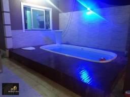 Casa duplex com Fino acabamento 03 quartos sendo 3 suites, piscina