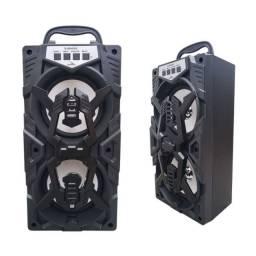 Caixa de Som 10w Grasep Bluetooth Radio FM Usb Micro Sd