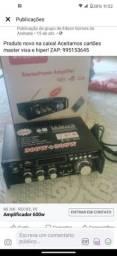 Amplificador 600w