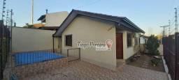 Excelente casa com 2 dormitórios para alugar no Porto Verde, 68 m² com piscina e churrasqu