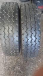 2 pneu banda usada 275.80.22.5
