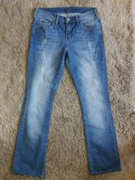 Calça Jeans M officer - tam 40 - feminina