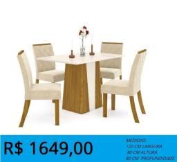 Mesa alto luxo - entrega e montagem gratis