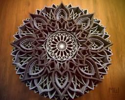 Mandala Vários Modelos Multicamadas