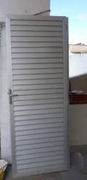 Portao de alumínio usado