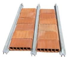 Lajes Pré-moldadas e Treliçadas com tijolos cerâmicos e EPS