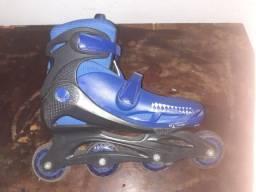 Par de patins número 37 ao 40