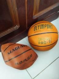 Vendo bolas de Basket Mirim e Adulto