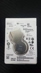 "HD Seagate 1 TB ST1000LM035 Sata III 5400 RPM 2.5"" 6.0 Gb/s para notebook"