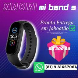 Xiaomi Mi Band 5 Original smartwatch smartband pronta entrega promoção