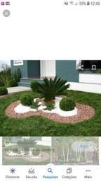 Serviços de jardinagem e limpeza de terrenos e pequenos reparos