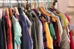 Lotes roupas diversas, pra brecho,  ler anuncio
