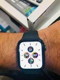 Vendo ou troco por cordão de ouro Apple Watch  caixa 43 m  geração 4 semi novo