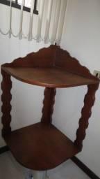 EStante/Cantoneira/Barzinho madeira maciça rústica - ótimo estado