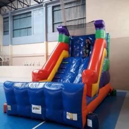 Locação de Tobogã grande inflável com preços promocionais
