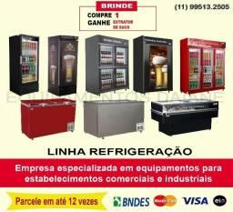Refrigeração, geladeira expositora, camara fria, freezer, ilha congelados, cervejeira