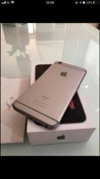 Vendo iPhone 6S Plus 128gb prata