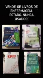Livros Enfermagem - NUNCA USADOS!
