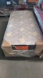 Cama Box Solteiro de Espuma!@#$