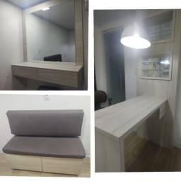 Vendo móveis de salão usados ideal para espaços pequenos