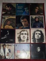 Coleção de Disco de vinil LP Roberto Carlos