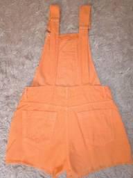 Jardineira laranja