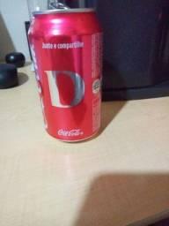 Letra D coca cola