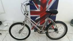 Bike aro 20 retrô infantil, quadro sapinho