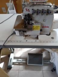 Máquina overlock 5 fio eletrônica