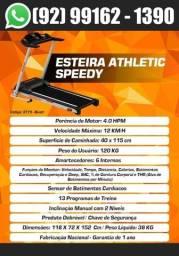 Esteira Semi-Profissional Athletic Race 16km/h + Sensor de Pulso Lançamento 2021