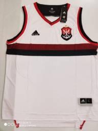 Regata Flamengo Basquete II Adidas 19/20 - Tamanho: P